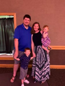 Pastor Courtnie and Family